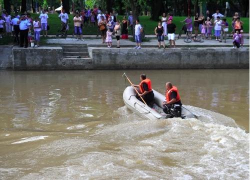 Alertă la Timișoara: o persoană s-a înecat în Bega