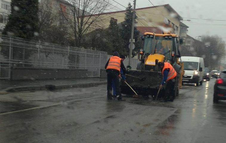 reparatii pe ploaie