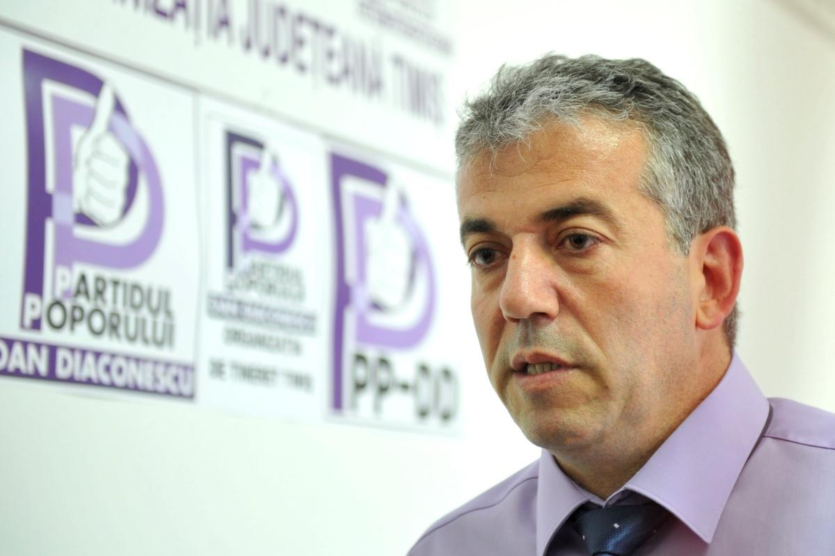 Adrian Diaconu presedinte PPDD Timis (1)