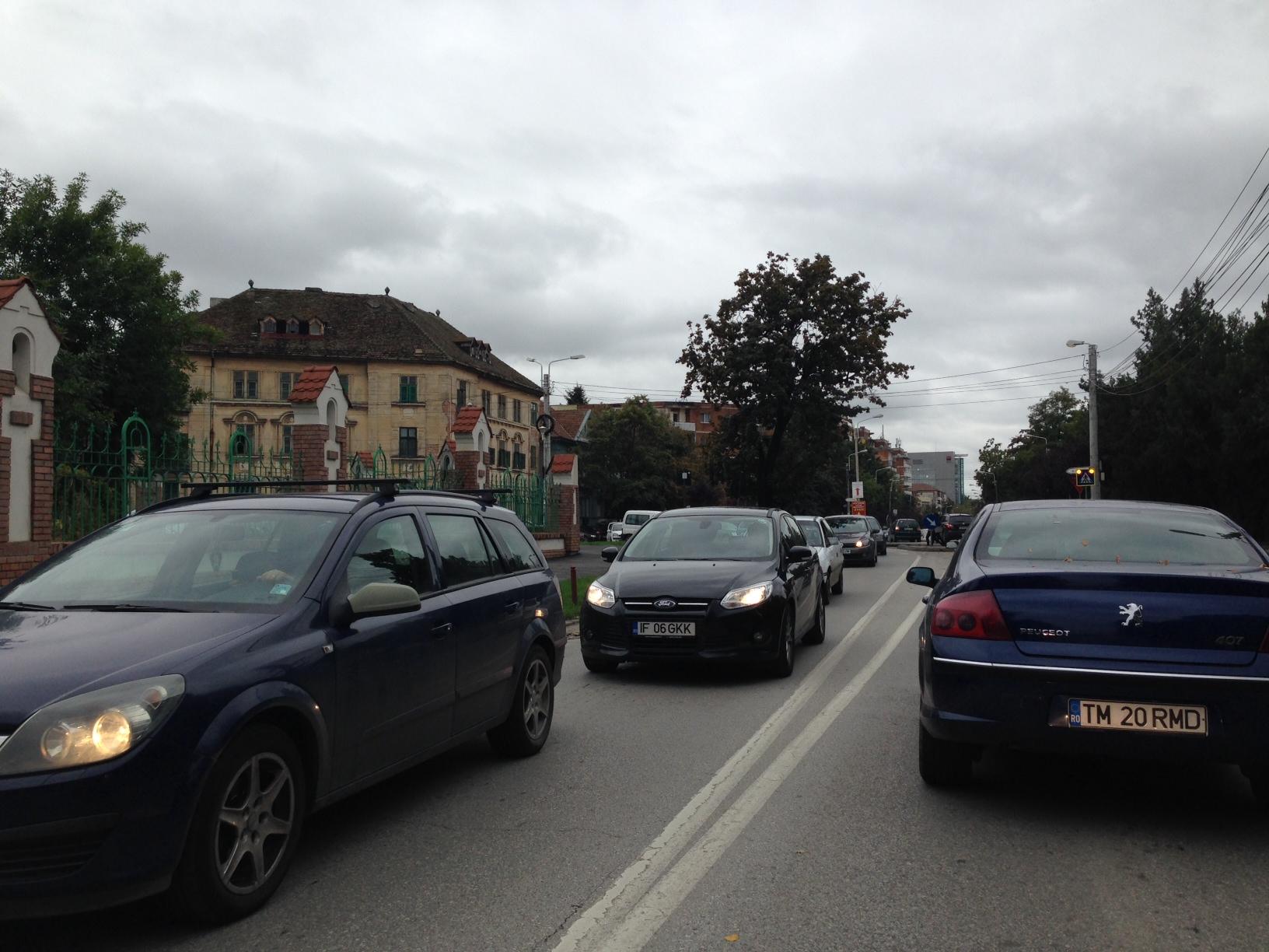 oroare in trafic