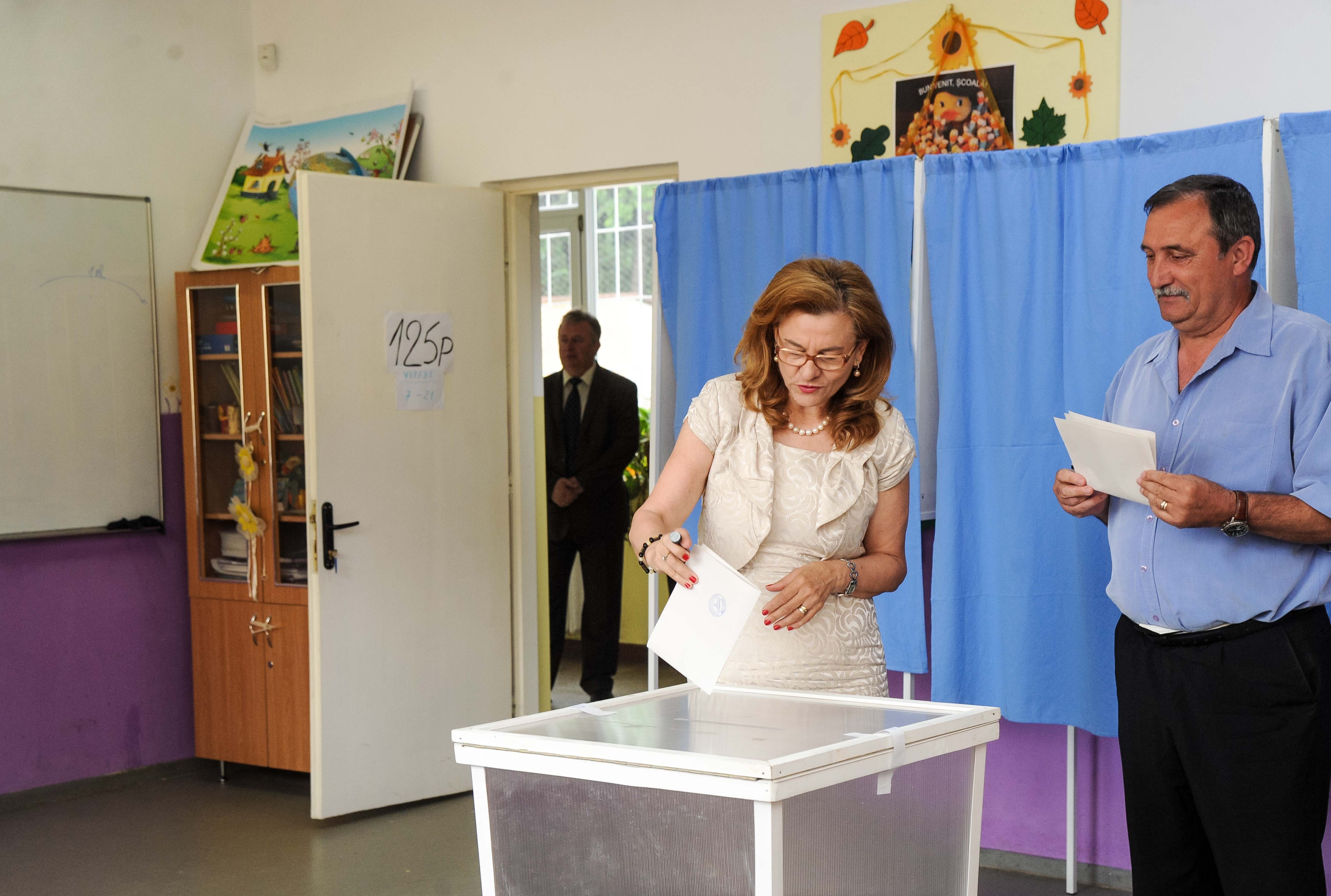 Maria Grapini votare europarlamentare 15