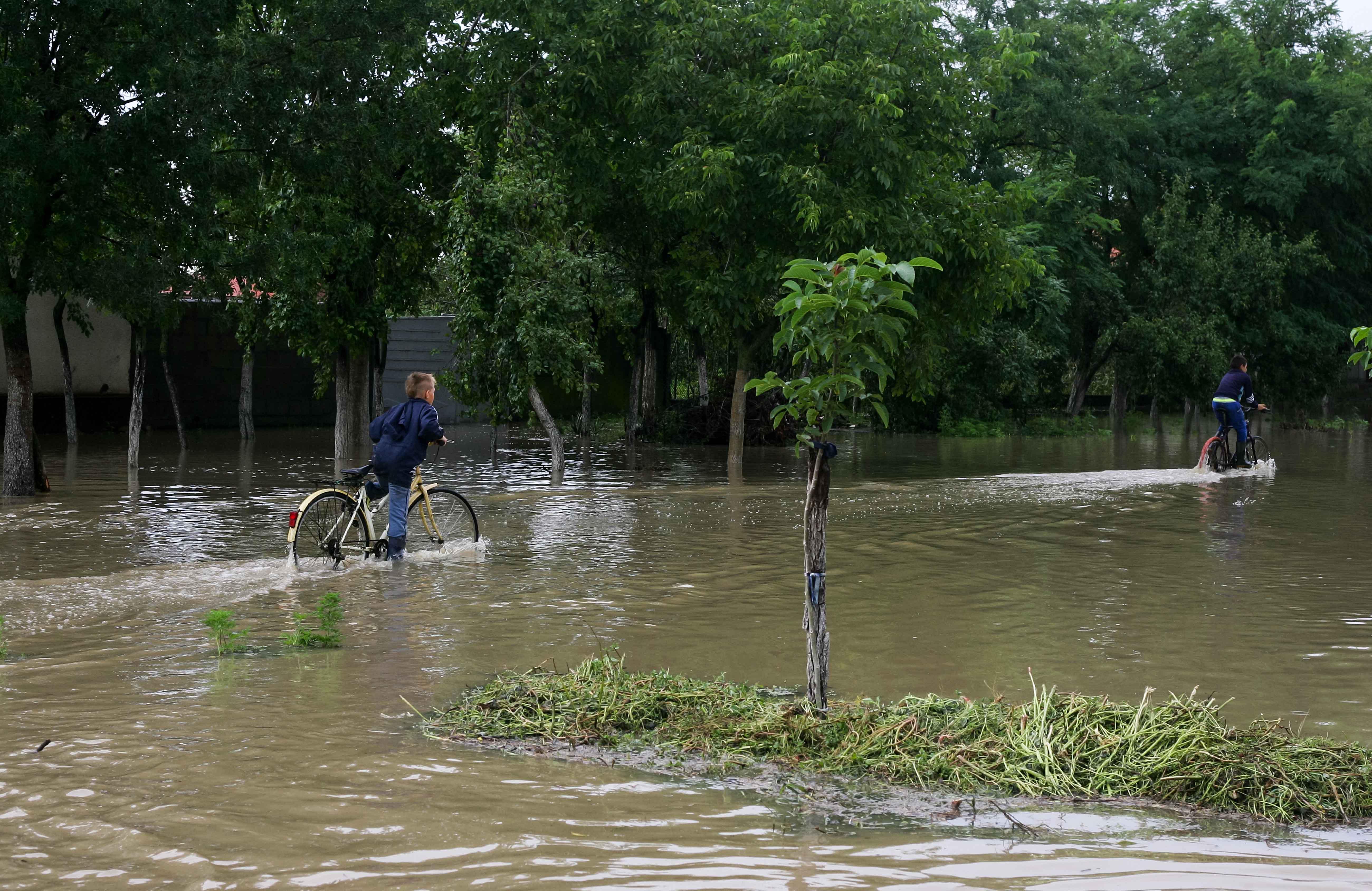 Gataia, judetul timis inundatii 014