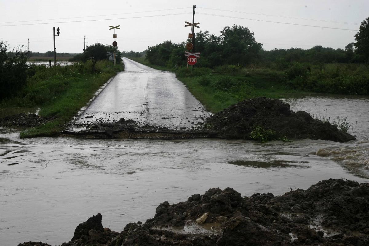 Gataia, judetul timis inundatii 078