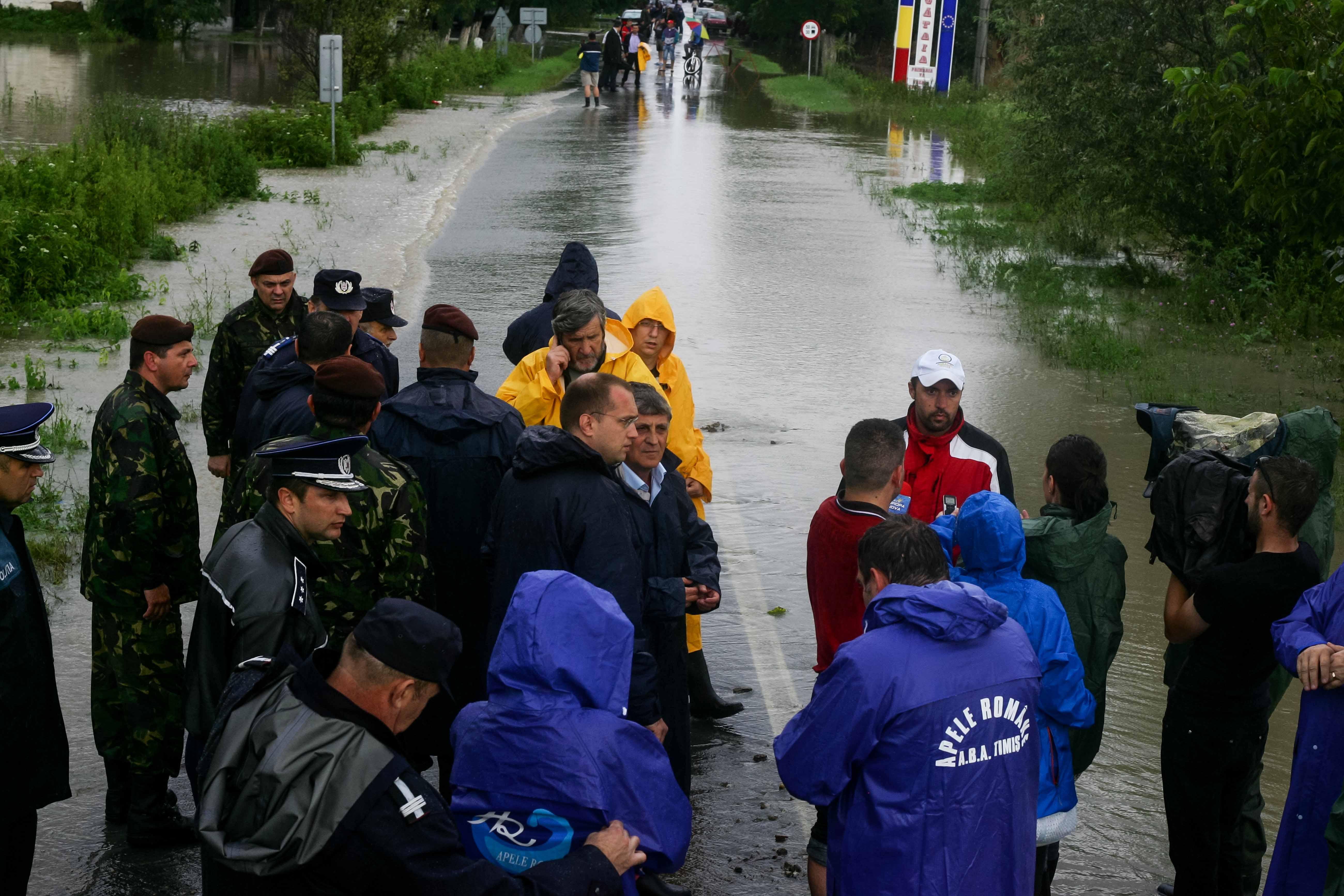 Gataia, judetul timis inundatii 084