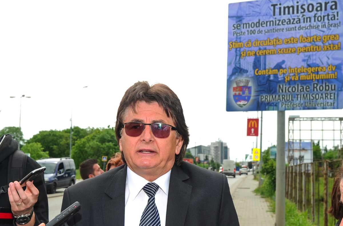 Nicolae Robu, panou de informare a cetatenilor 4