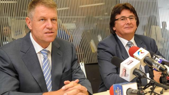 Klaus Iohannis si Nicolae Robu
