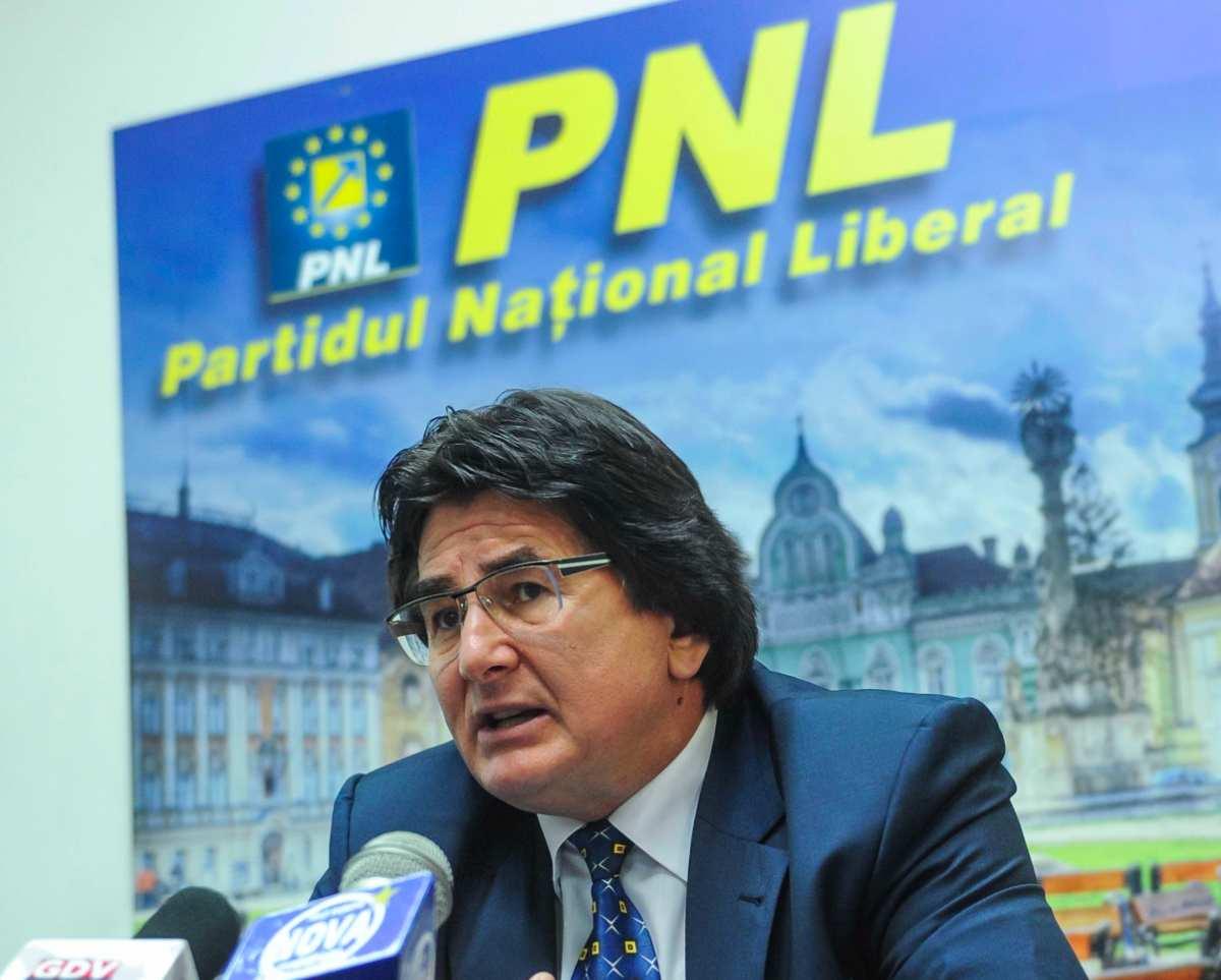 Nicolae Robu copresedinte PNL Timis 08