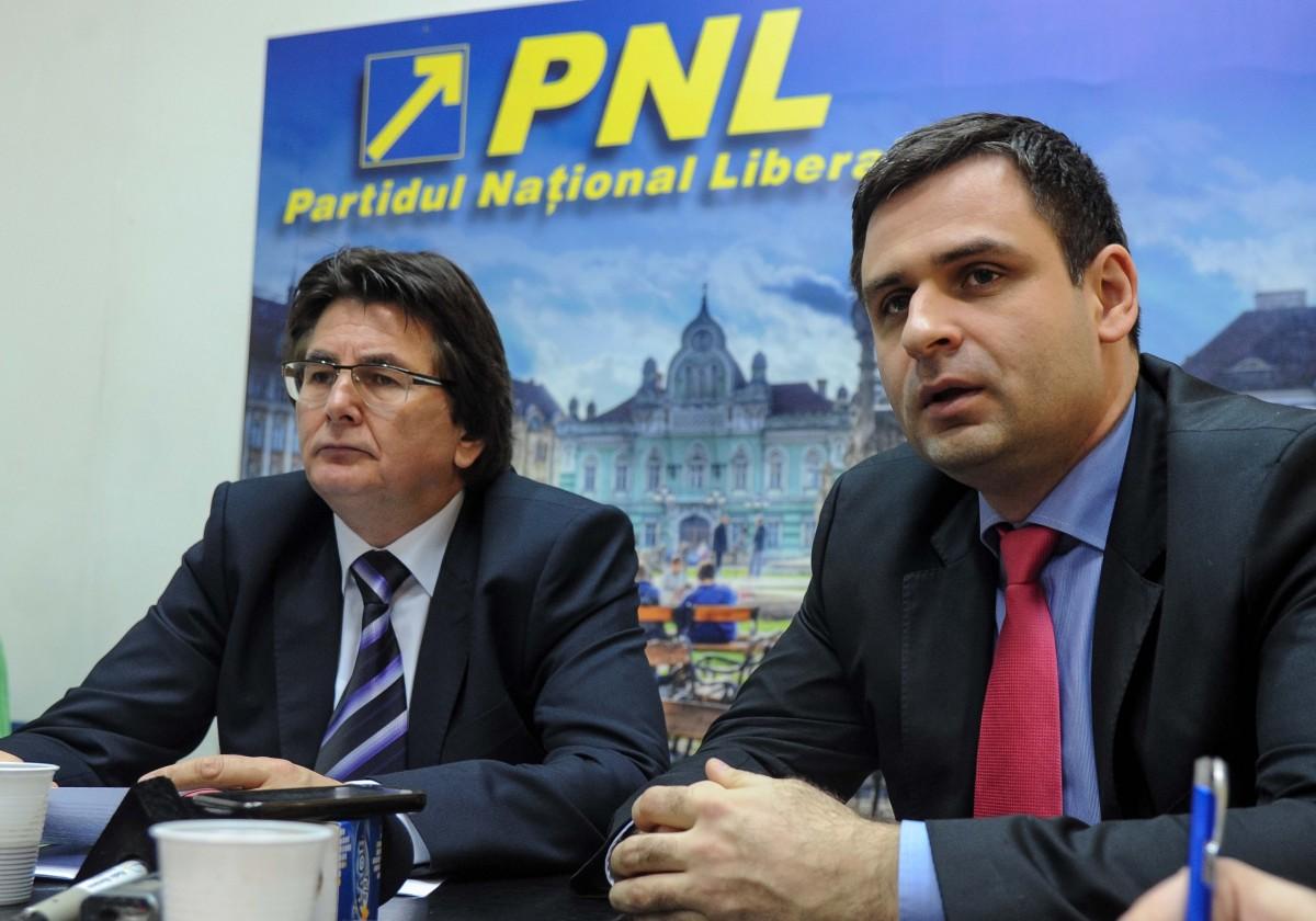 Nicolae Robu presedinte PNL Timis, Ciprian Jichici consilier local (1)
