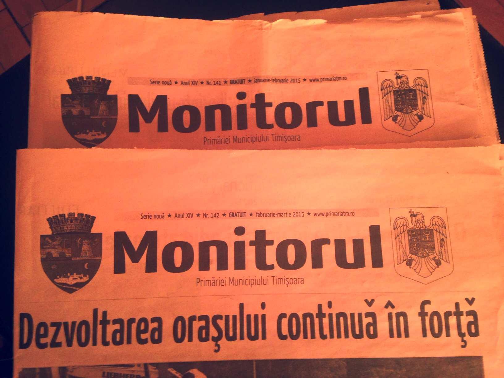 monitor primariei