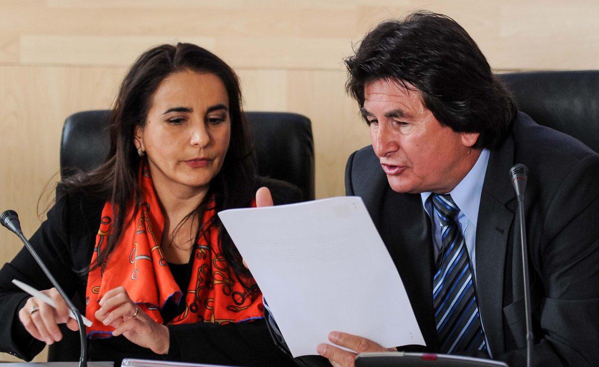 Simona Neumann si Nicolae Robu