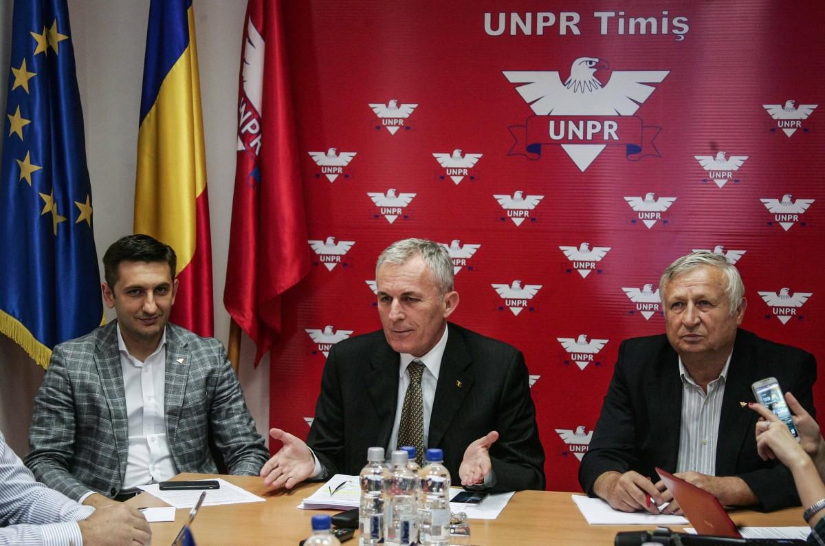 Ion Raducanu presedinte UNPR Timis 05