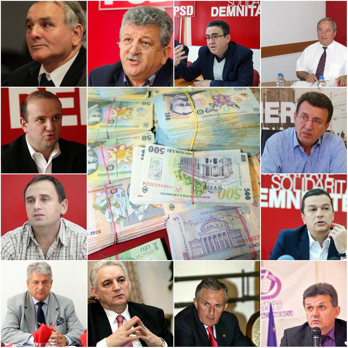 pensii parlamentari
