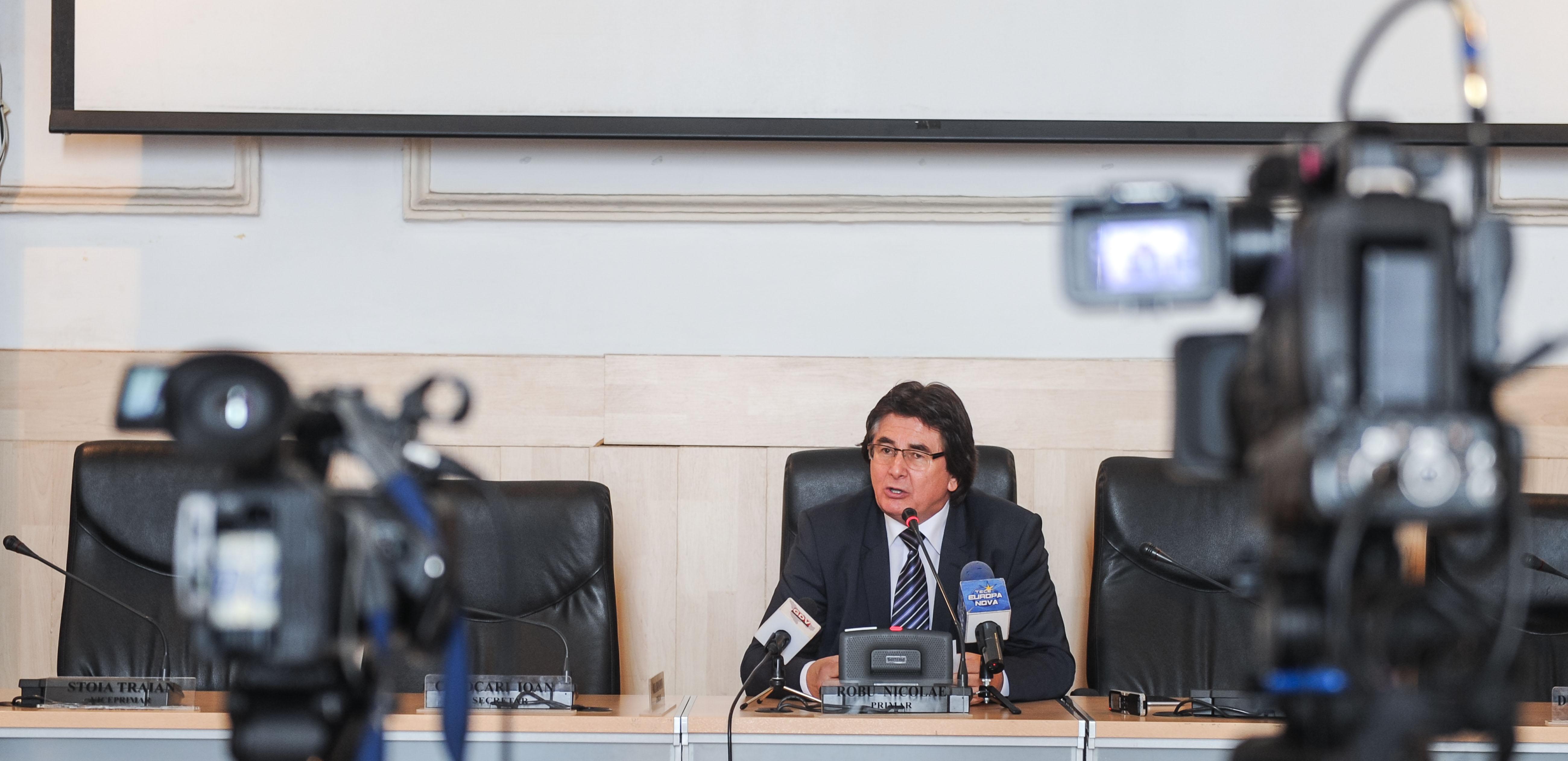 Nicolae Robu primarul Timisoarei 01