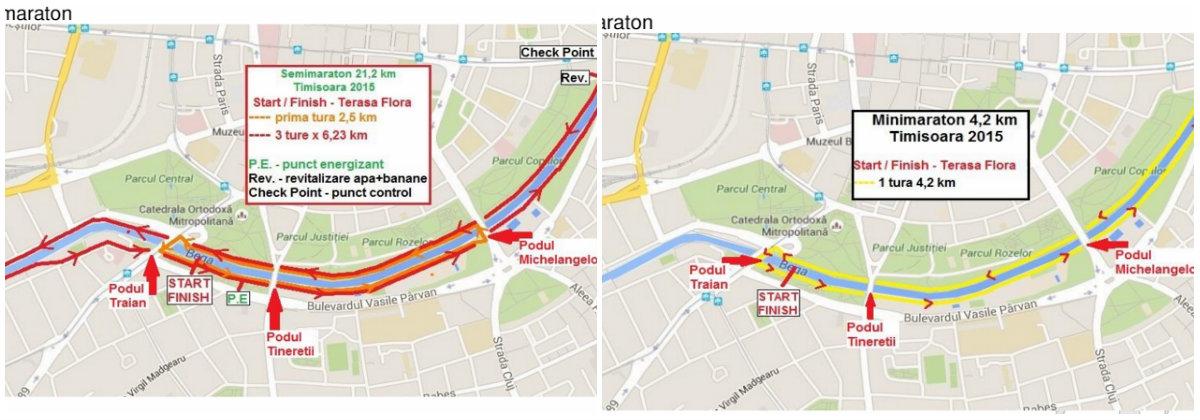 trasee maraton