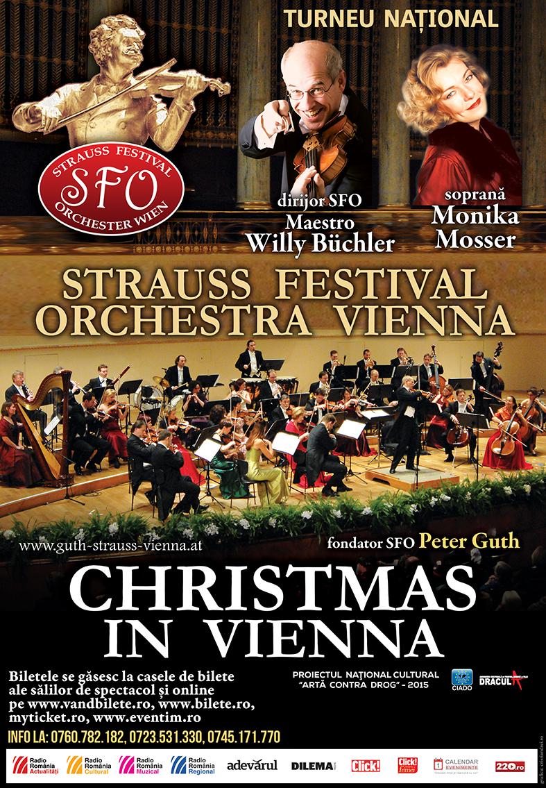 Afis CHRISTMAS_in_Vienna_2015_turneu