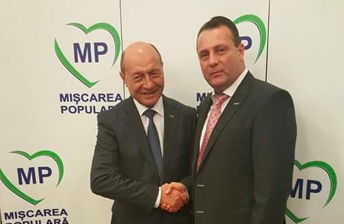 Traian Basescu si Dorin Candea