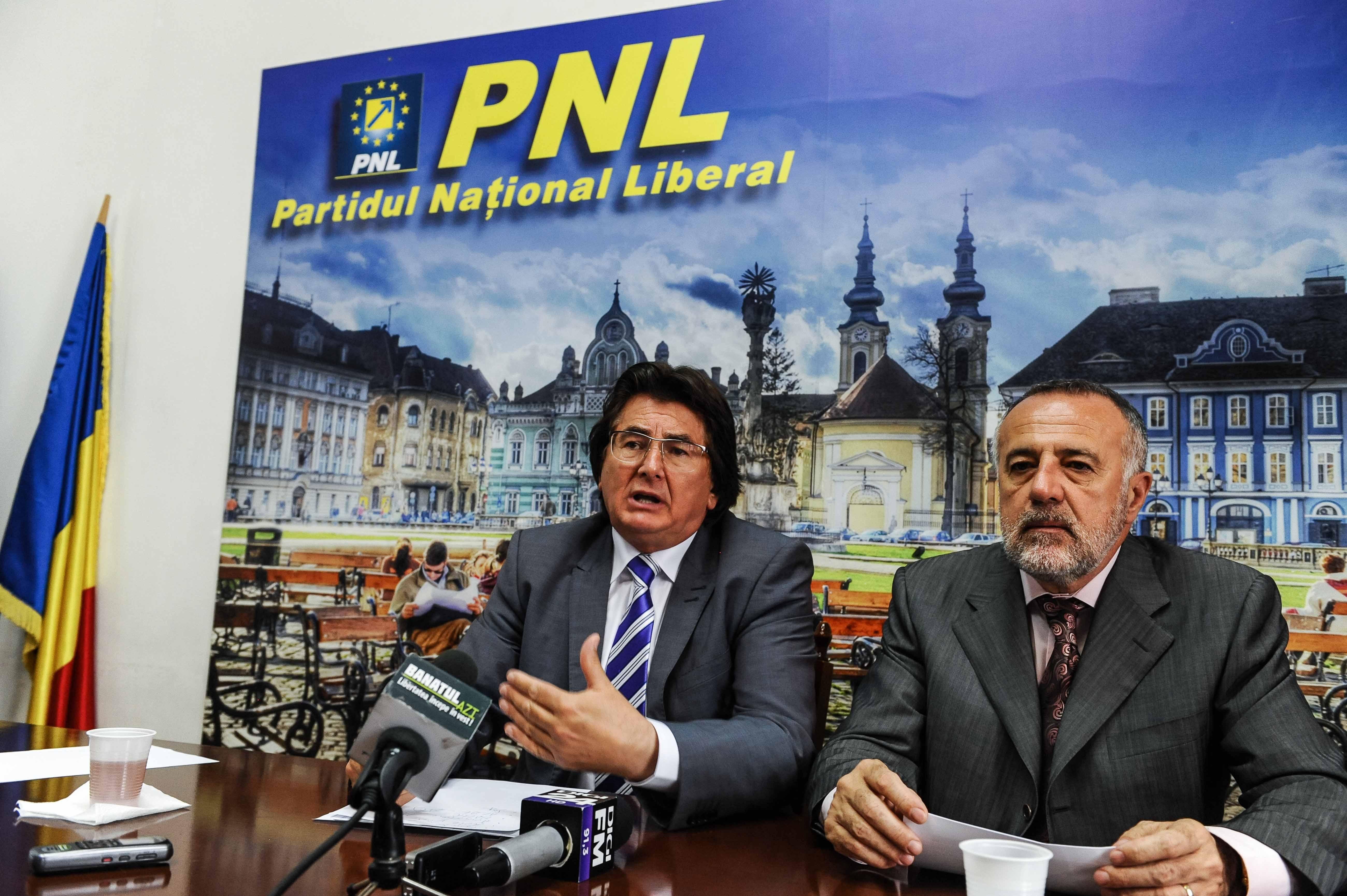 Nicolae Robu, Dan Popa co-presedinti PNL Timis 01