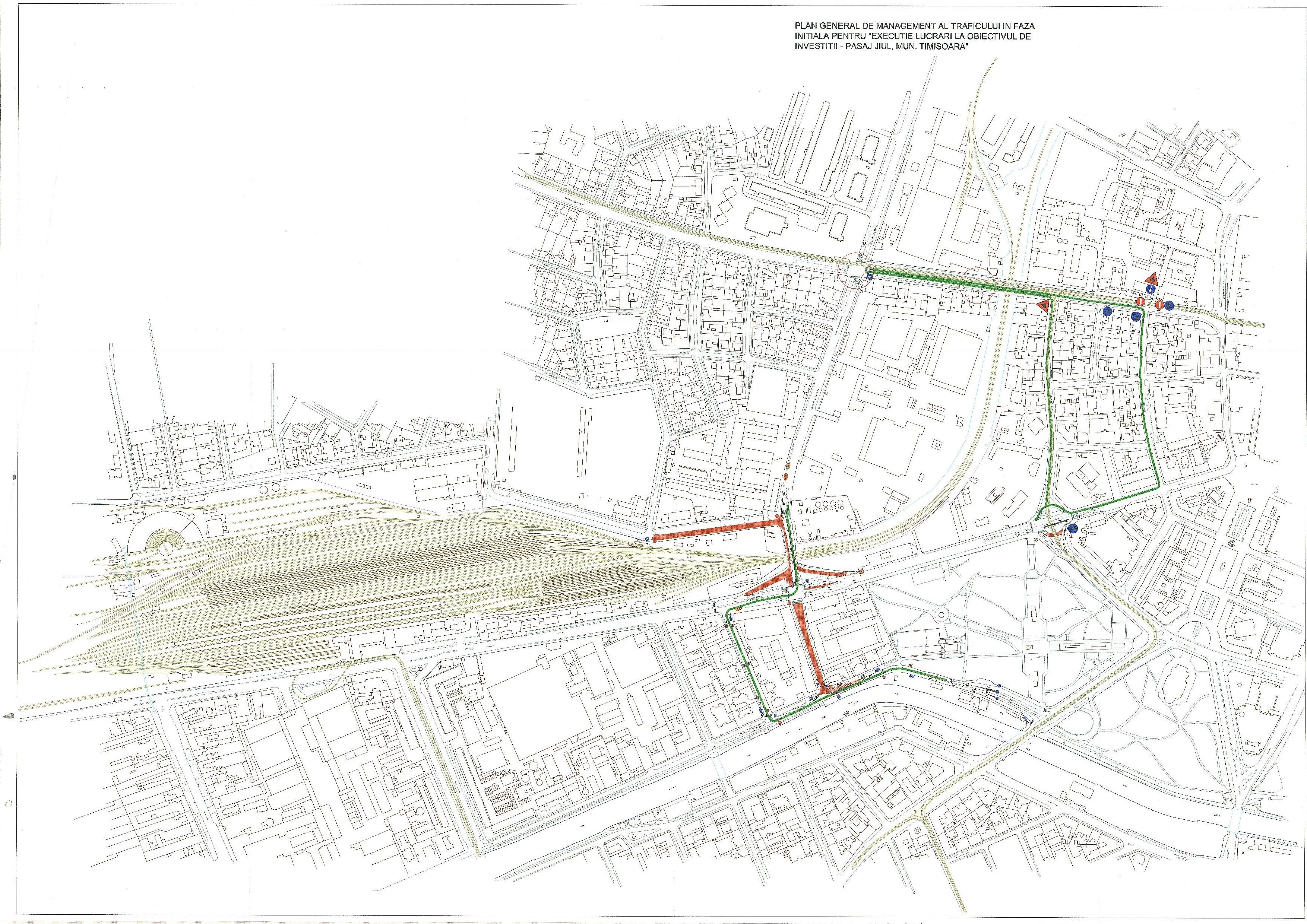 Plan de trafic Pasaj Jiul-2
