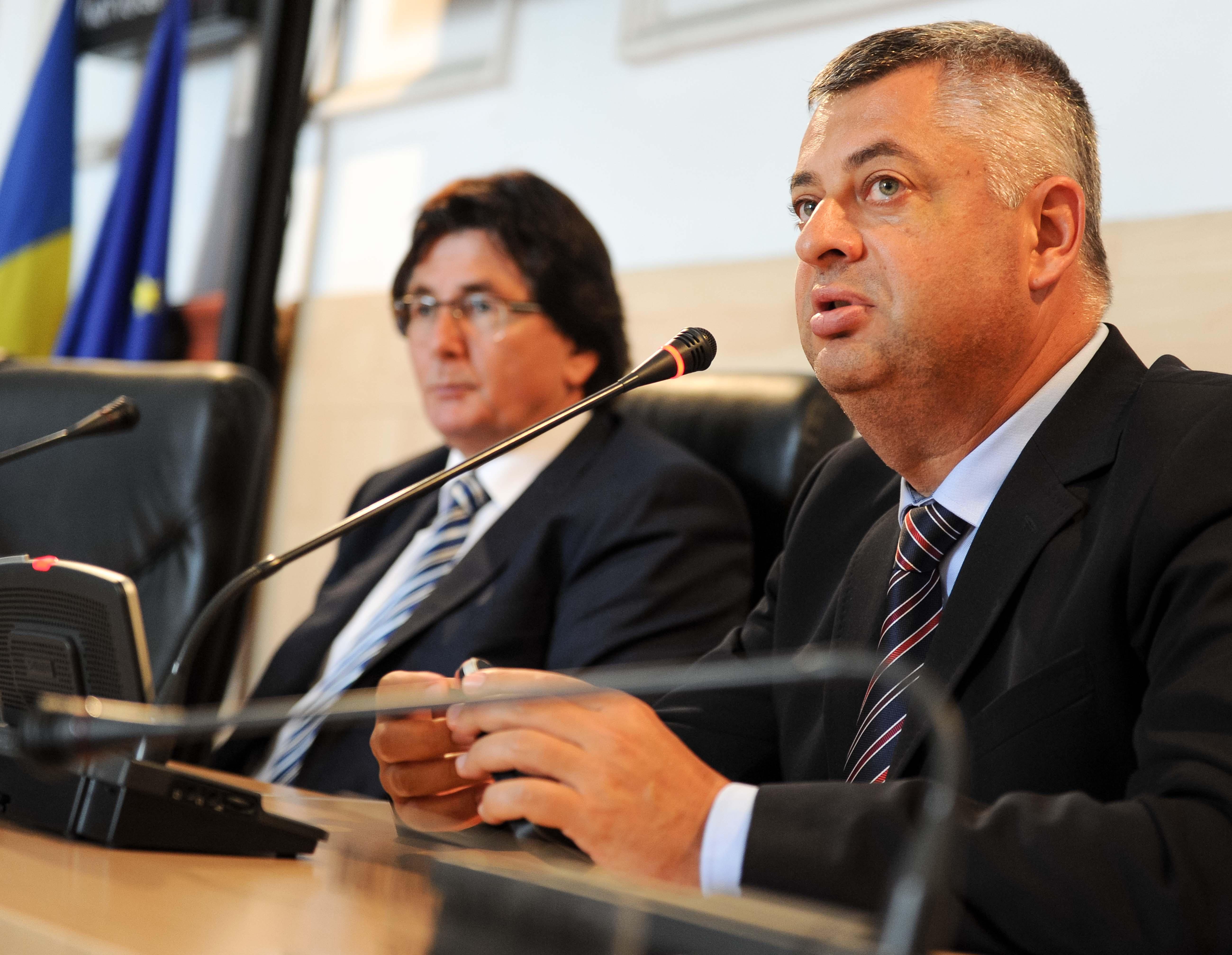 Nicolae Robu, Sorin Dragoi city manager Primaria Timisoara 11