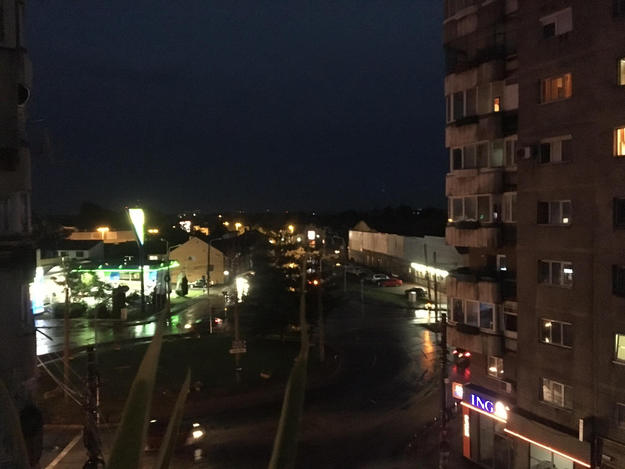 Beznă în Timișoara