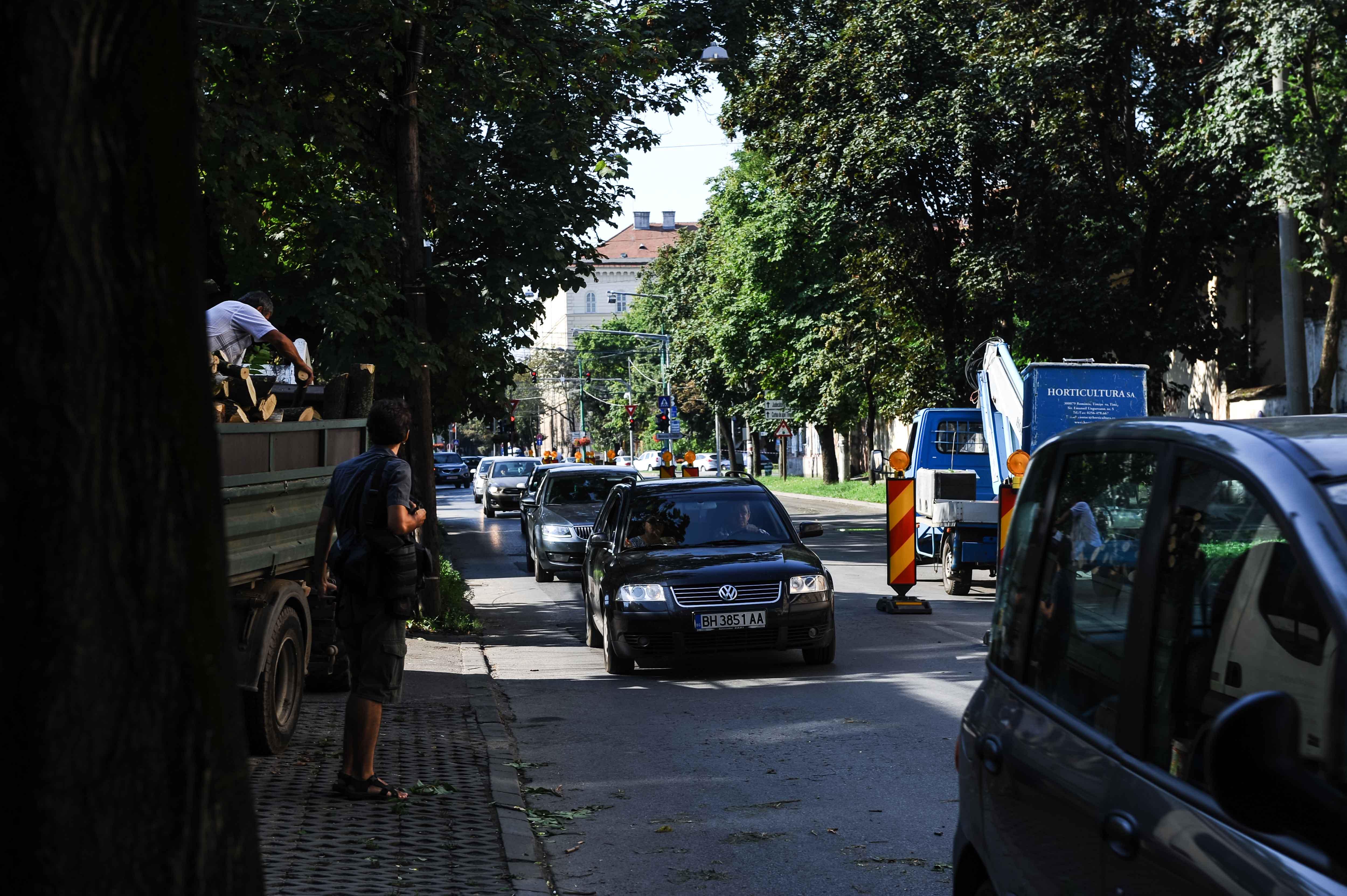 strada Popa Sapca santier extinderee patru benzi05
