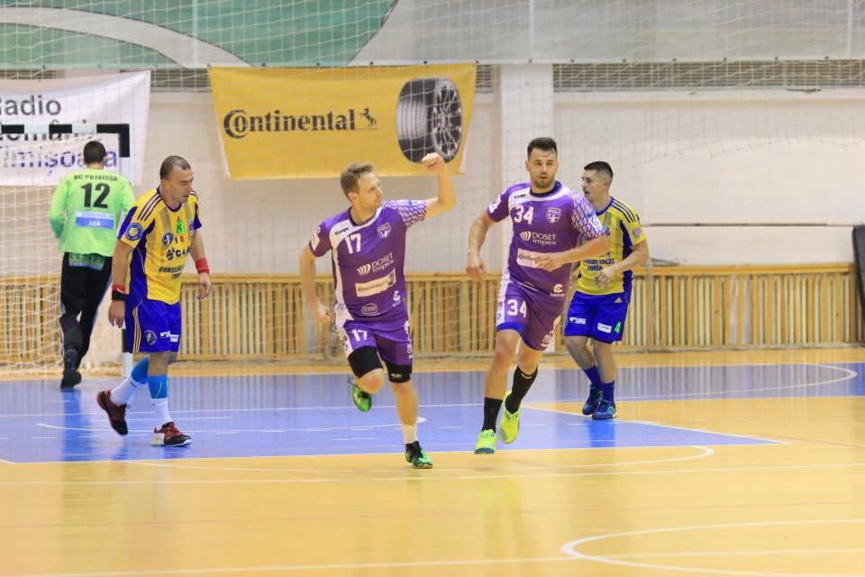 SCM Politehnica va întâlni în Cupa EHF fie pe Olympiakos Pireu, fie pe RK Borac Banja Luka