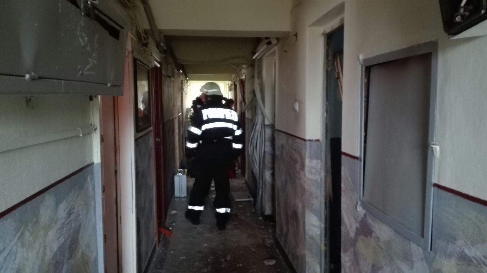 Explozie într-un bloc din Timișoara