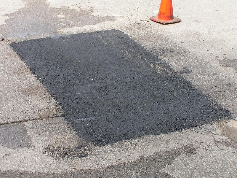 asfalt spart