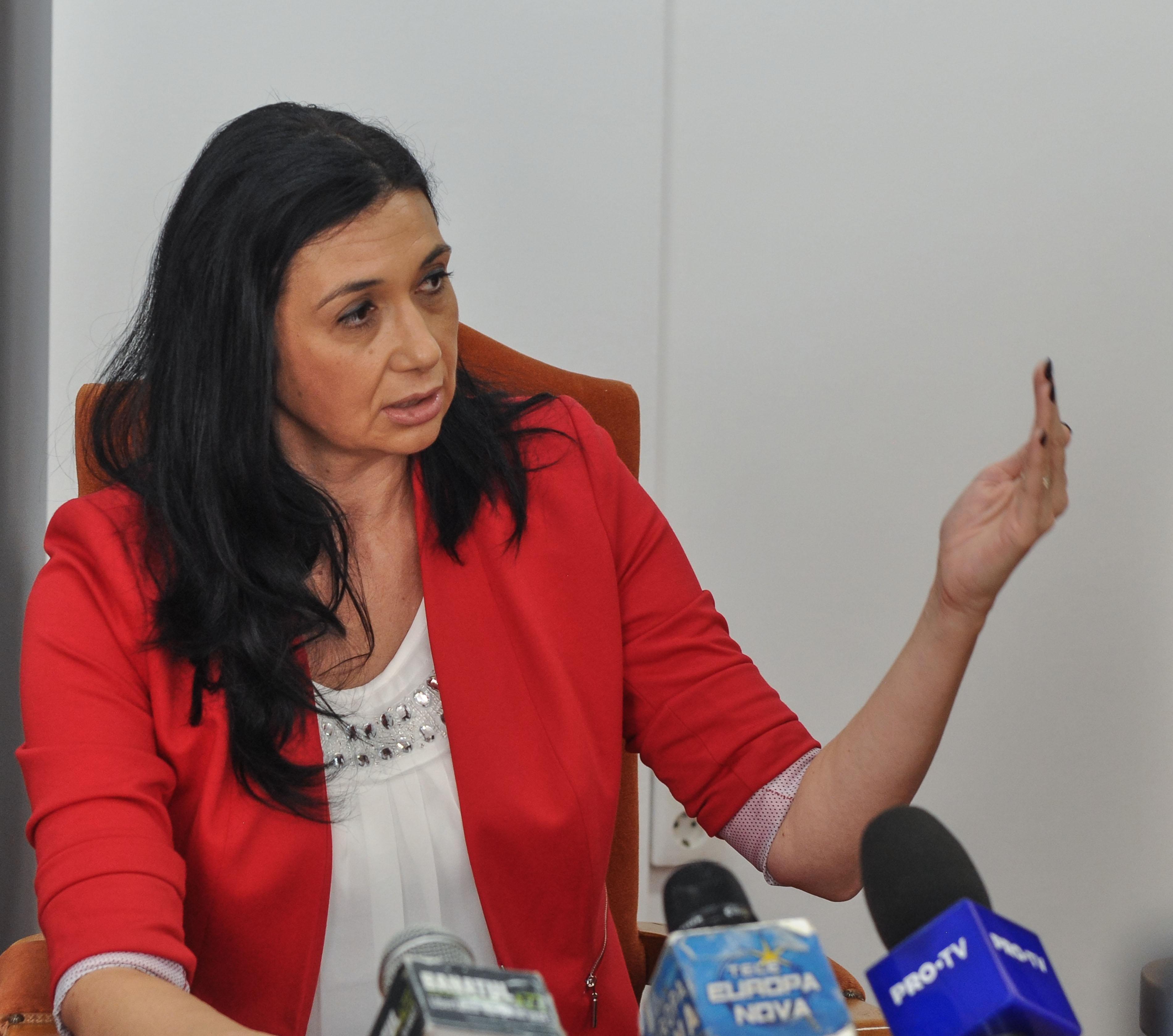 Eva Andreaș, prefect de Timiș