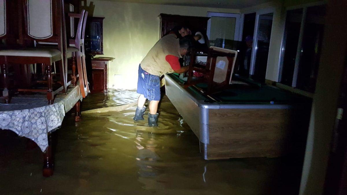 Cod portocaliu de inundații în Timiș și Caraș-Severin