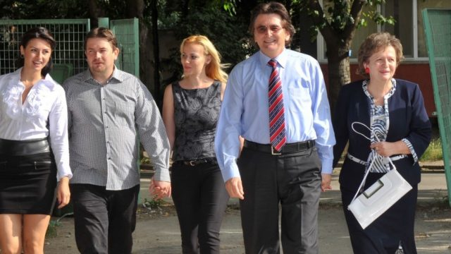 Nicolae Robu si familia