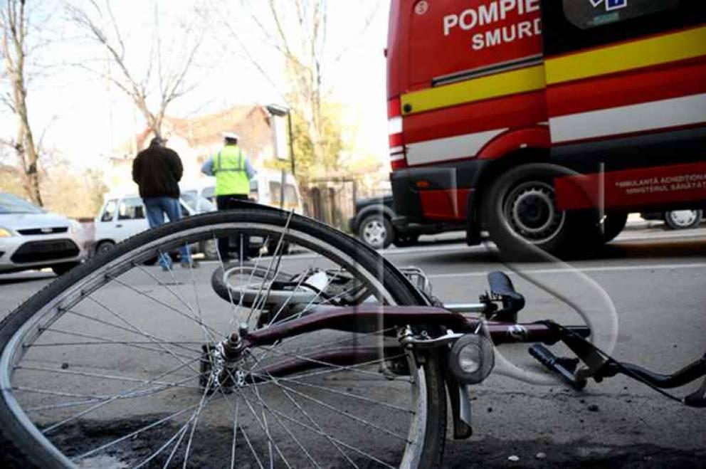 Biciclist decapitat lângă Șiria