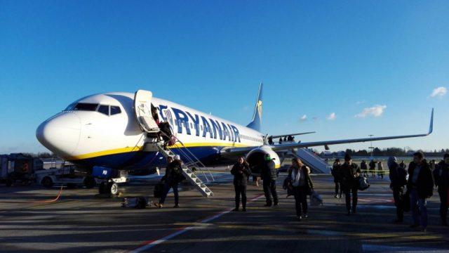 aterizare forțată Ryanair