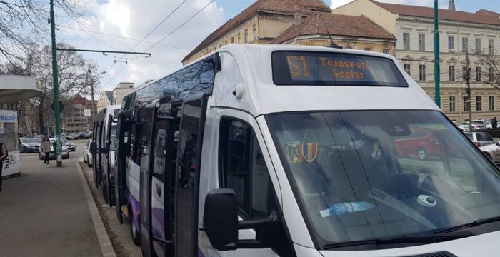 Transport școlar la Timișoara