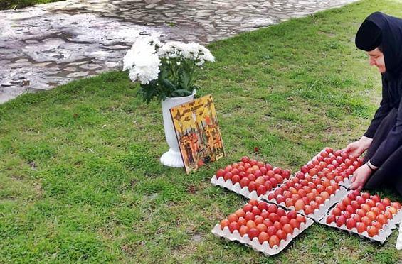 O mie de ouă vopsite la mănăstirea Timișeni-Șag
