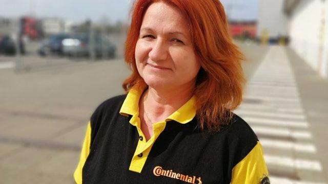 Elena Giurgiu, Continental Anvelope