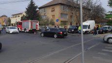 Accident rutier în Timișoara