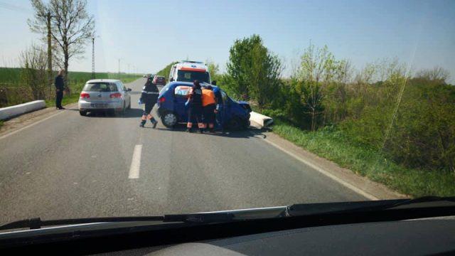 Accident rutier în localitatea Găvojdia