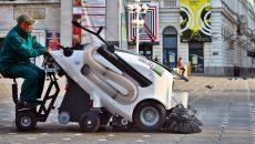 Curatenie stradala la Timisoara