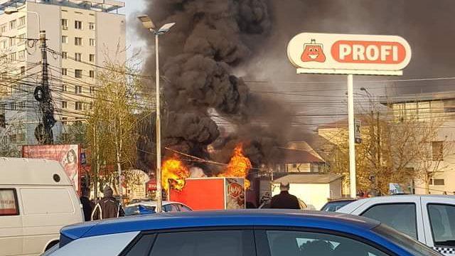 Incendiu Calea Sagului