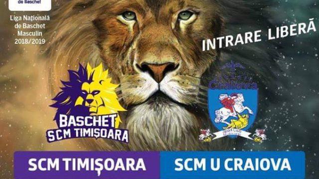 SCM Timișoara - SCM U Craiova