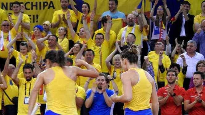 Franța - România, Fed Cup