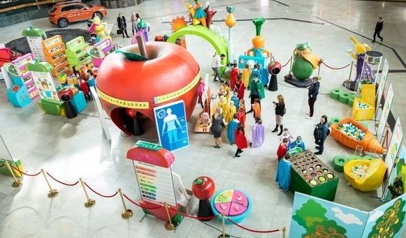 Copiii pot afla, la Iulius Mall Timişoara, ce înseamnă o alimentaţie sănătoasă
