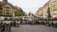 Pedalare critică la Timișoara în ultima zi de vineri a lunii