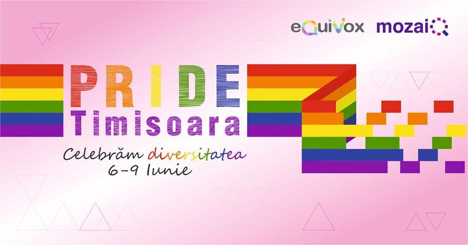 Prima săptămână PRIDE la Timișoara organizată de comunitatea LGBTQ+