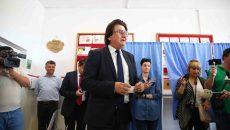 Primarul Nicolae Robu, la vot