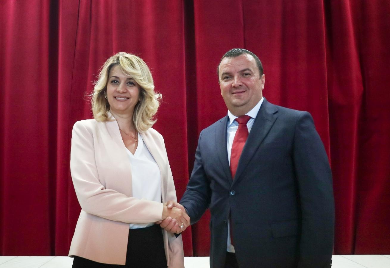 Bianca Gavriliță și Călin Dobra