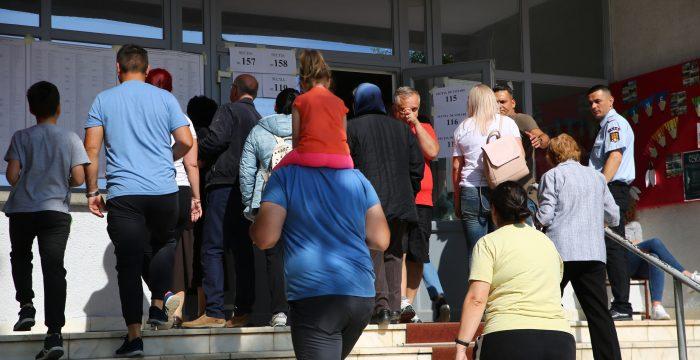 Prezență la vot, Timișoara