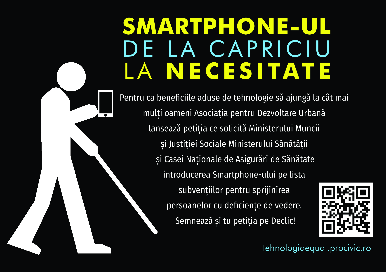 Cum folosește un nevăzător smartphone-ul?