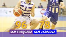 SCM Timișoara - SCM U Craiova 96 - 78